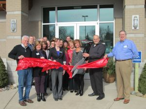 Ribbon Cutting at Schoen Insurance