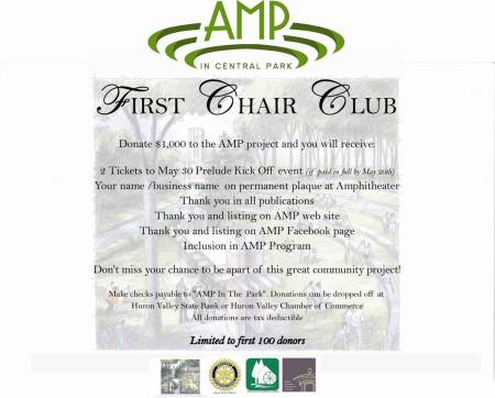1st Chair CLub Poster