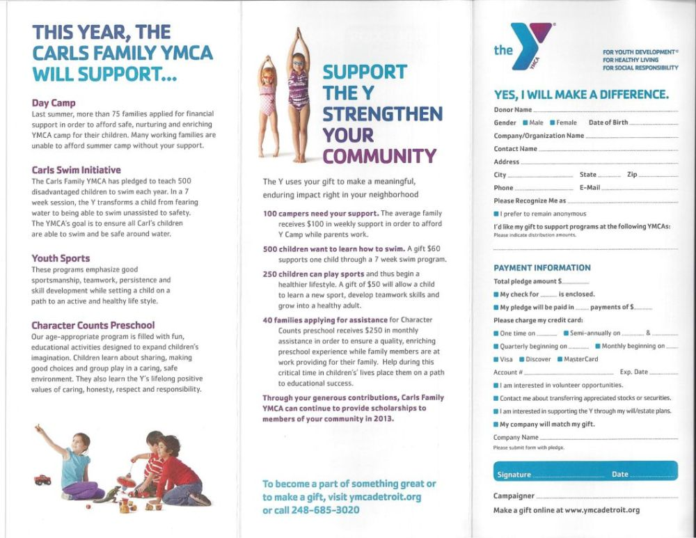 Strong Kids Campaign Kicks off at the Y (1/2)
