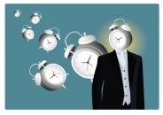 clockhead man