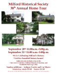 2014 Annual Home Tour Poster
