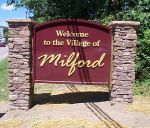 Welcome to the Village of Milford sign
