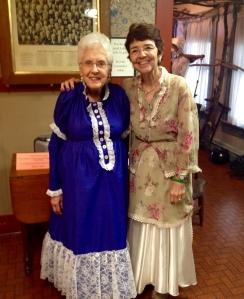 Mary Lou and MArlene