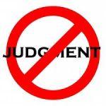 no judgement