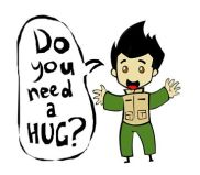 Do you need a hug
