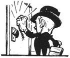 knockng on door