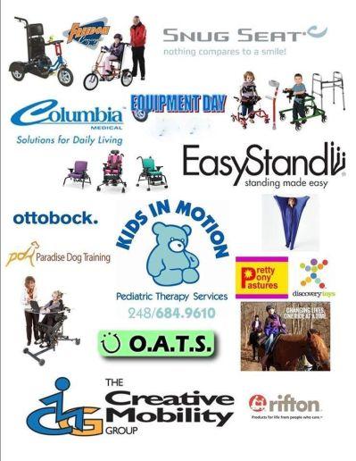 Equipment vendor list flyer