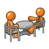 discussion over table