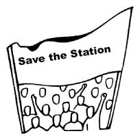 save the station rally