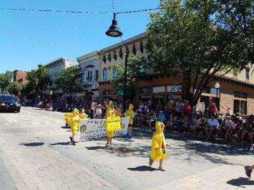 Rotary Duck Race kids