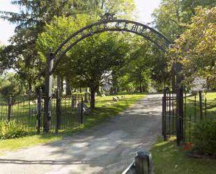 Oak Grove Cemetery entrance
