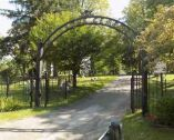 Oak Grove Cemetery entrance