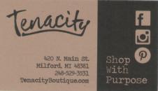 Tenacity card image