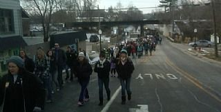 MLK Day parade in Mlford