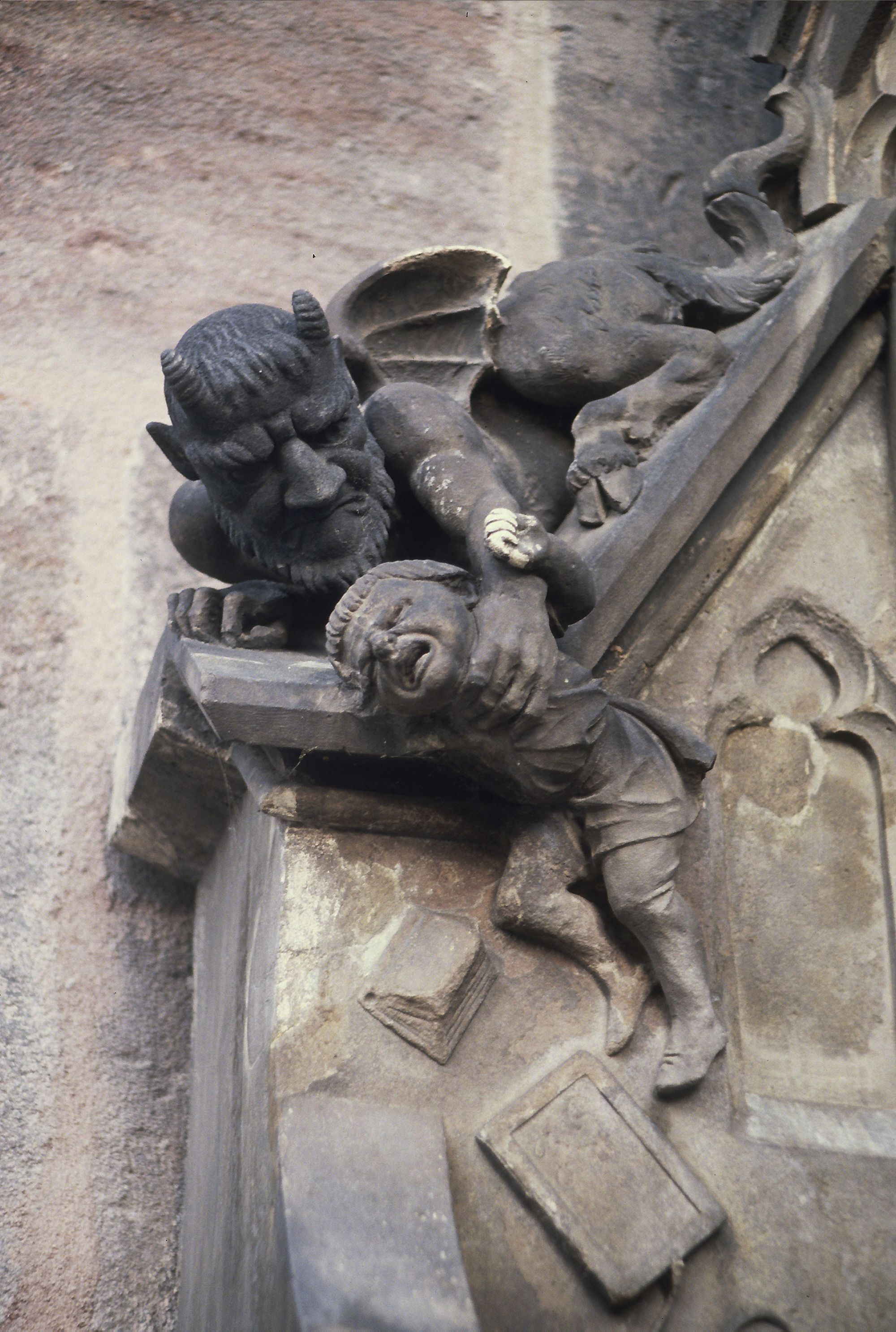 demon grabbinbg child